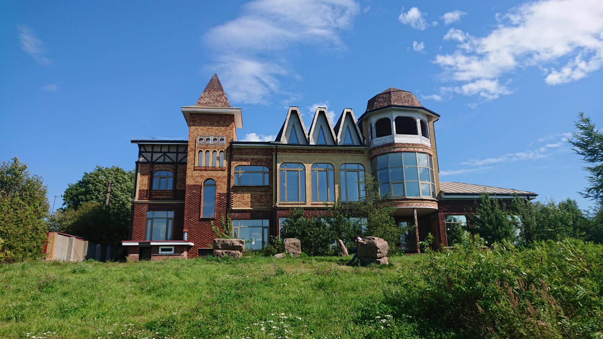 Обои дома, высота, городок, крыши, строение, вид, скала. Города foto 17